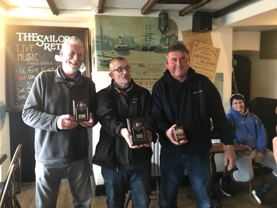 the winners of the weymouth pollack competition