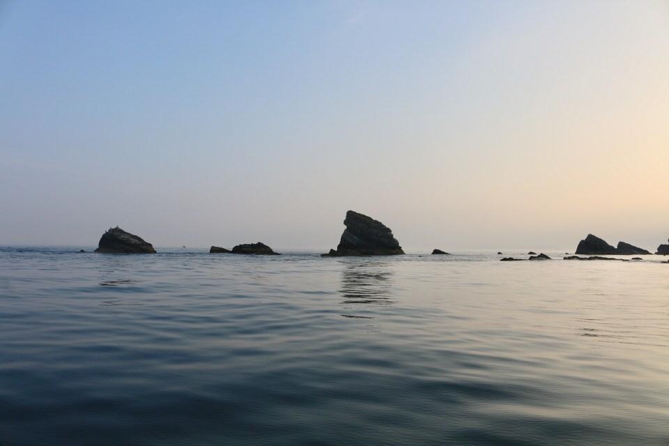 Mupes rocks at Mupes Bay
