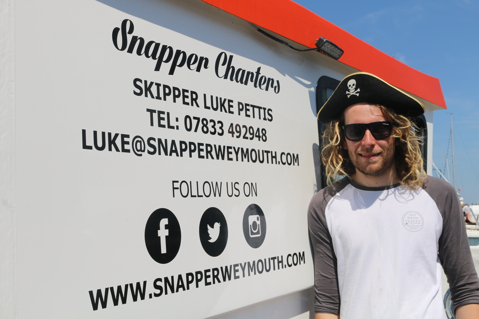 skipper luke pettis pirate birthday party on snapper charters