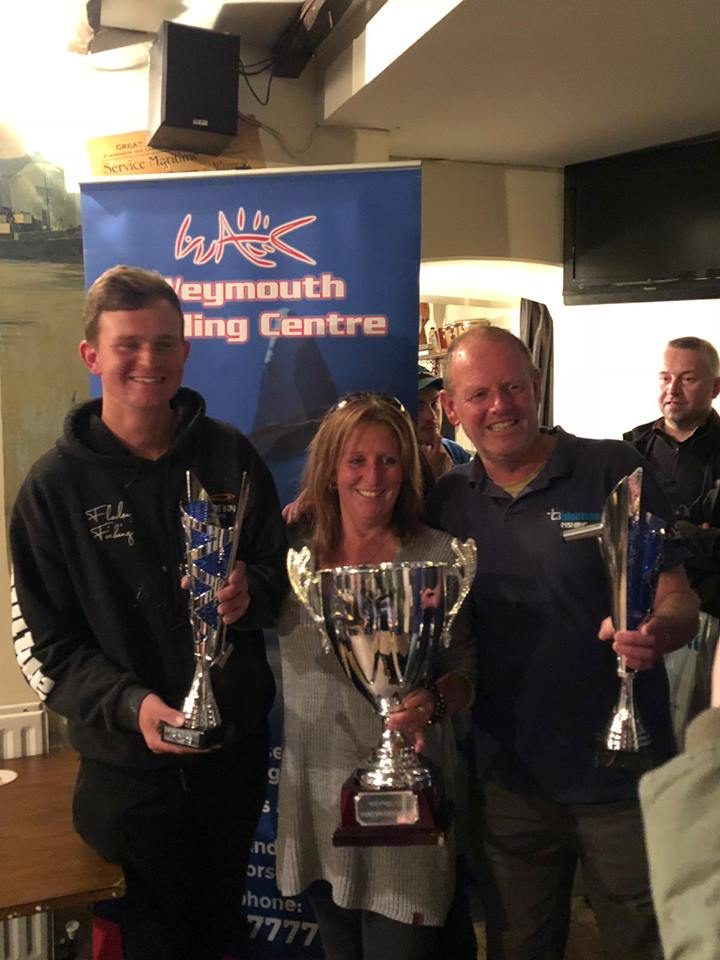 weymouth pairs fishing competition winners presentation
