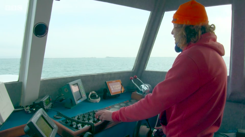 luke as skipper for blue planet uk